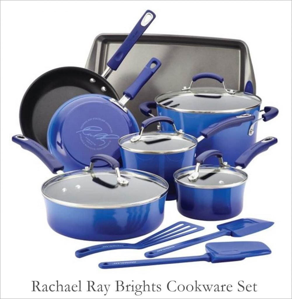 Rachael Ray Colorful Pots and Pans Set