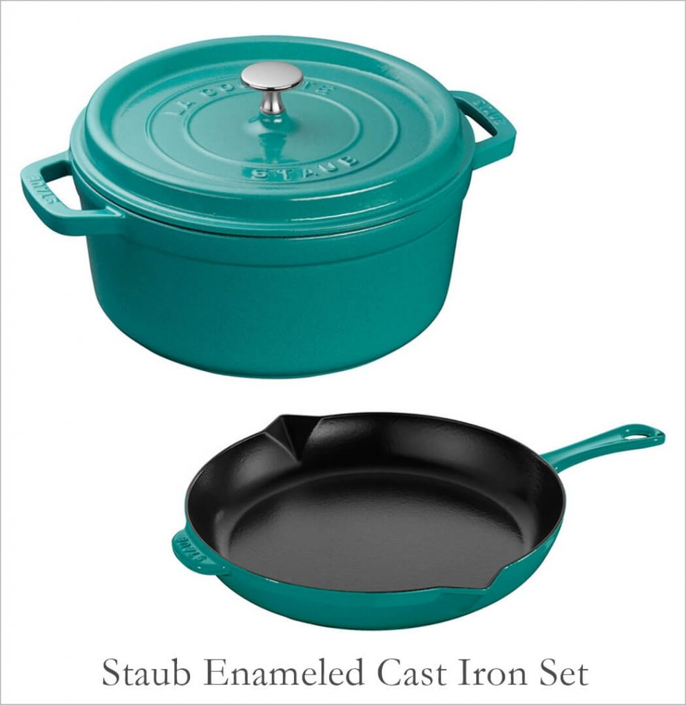 Staub Colorful Pots and Pans